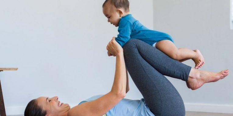 yoga mama y bebe